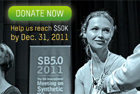 Donate Now: Help us raise $50K by Dec. 31, 2011